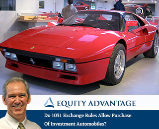 Do 1031 Exchange Rules Allow Purchase Of Investment Automobiles?