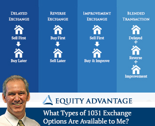 What Types Of 1031 Exchange Options Are Available To Me?