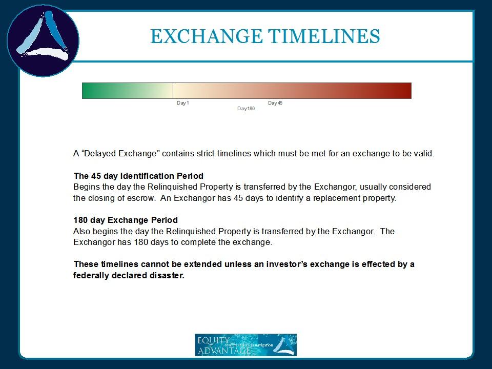 1031 Exchange Timelines