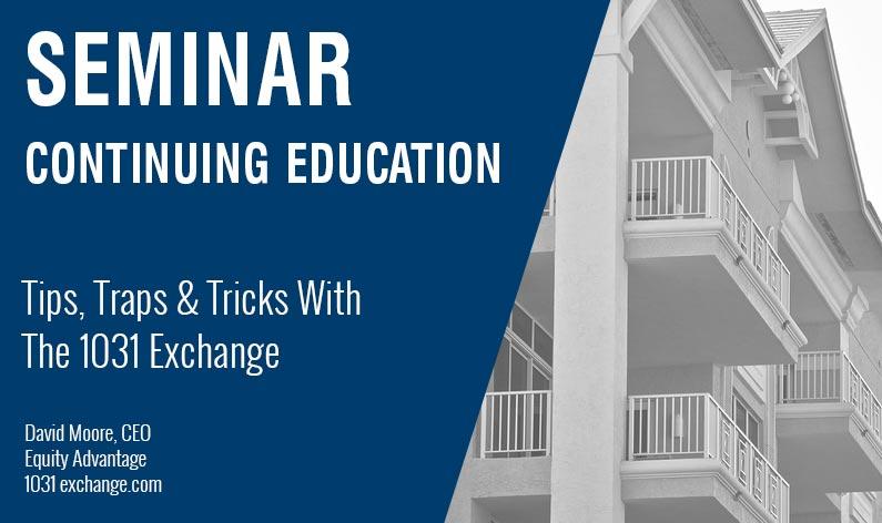 Continuing-Education-1031-Tips-TrapsTricks-Aug--2018