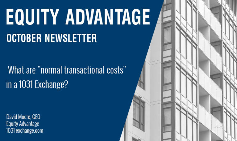 "What are ""Normal Transactional Costs"" in a 1031 Exchange?"