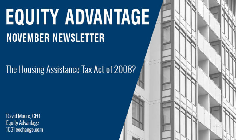 THE HOUSING ASSISTANCE TAX ACT OF 2008?