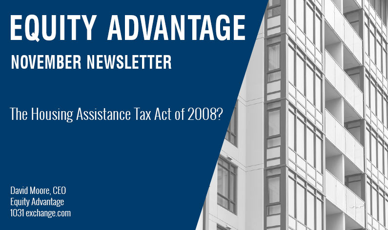 THE HOUSING ASSISTANCE TAX ACT OF 2008