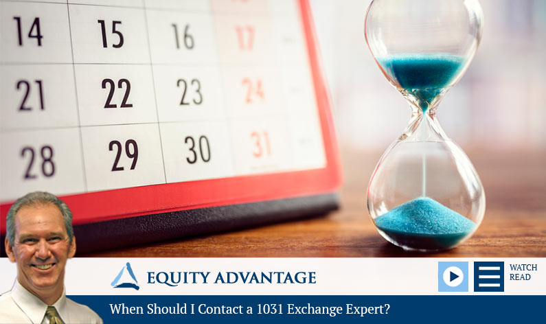 When Should I Contact a 1031 Exchange Expert