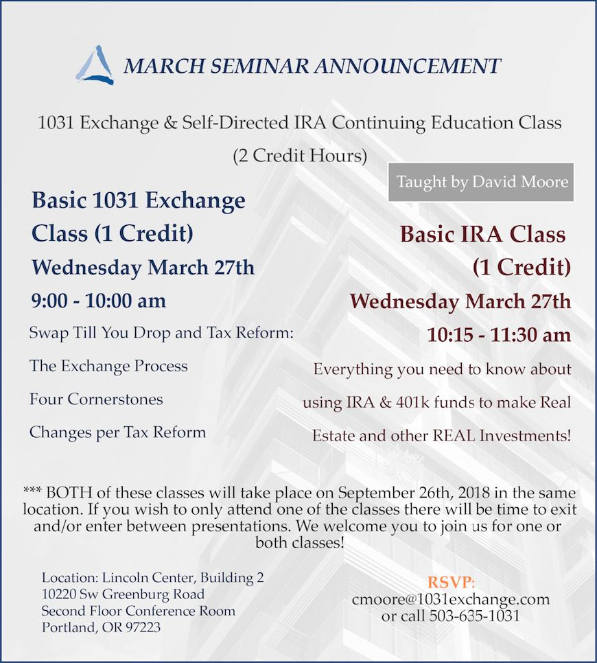 March Seminar 2019