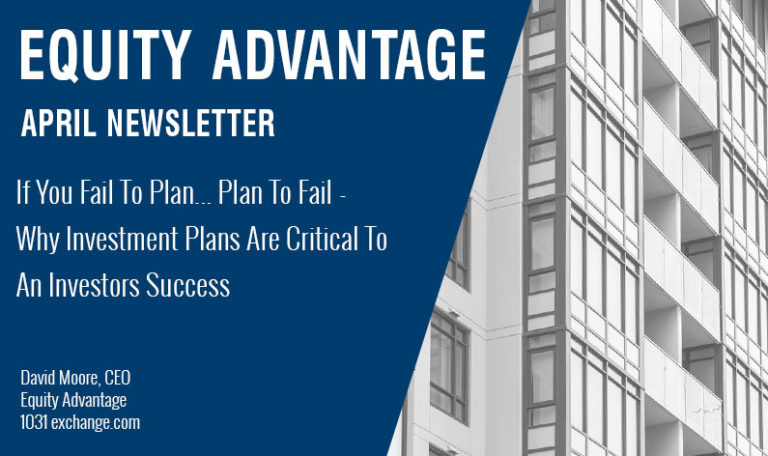 If You Fail To Plan… Plan To Fail – Why Investment Plans Are Critical To An Investors Success