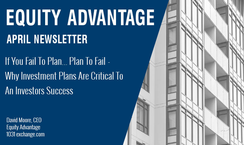 If You Fail To Plan... Plan To Fail - Why Investment Plans Are Critical To An Investors Success