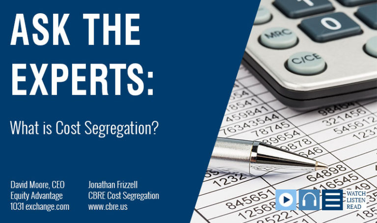 Ask The Experts: What is Cost Segregation?