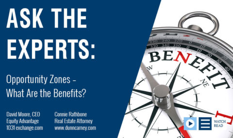 Opportunity Zones – What Are the Benefits?