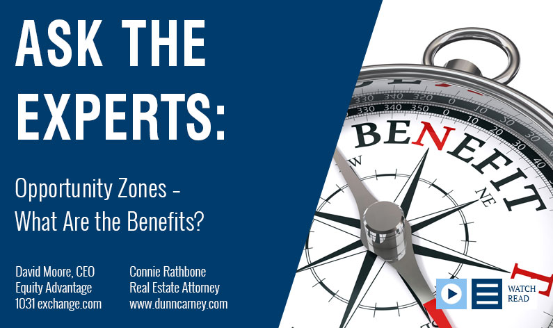 Opportunity Zones – What Are the Benefits