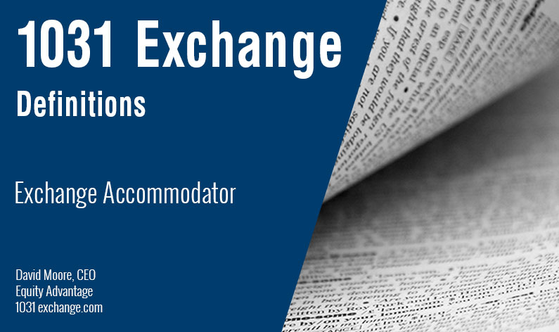Exchange Accommodator