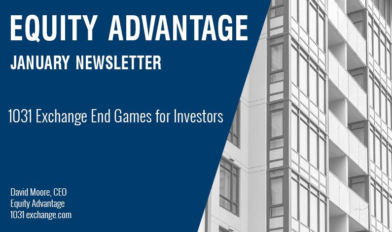 1031 Exchange End Games for Investors