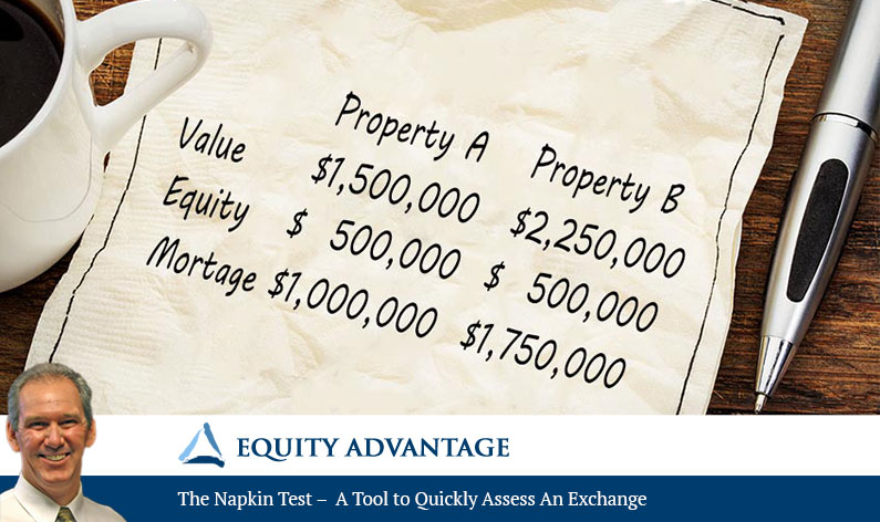 The Napkin Test – A Tool to Quickly Assess An Exchange