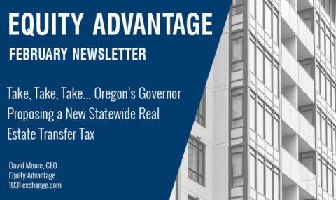 Take, Take, Take… Oregon's Governor Proposing a New Statewide Real Estate Transfer Tax