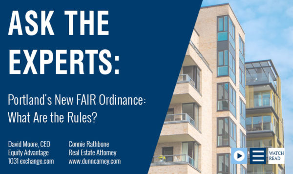 Portland's New FAIR Ordinance: What Are the Rules?