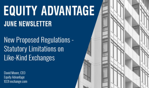 New Proposed Regulations – Statutory Limitations on Like-Kind Exchanges