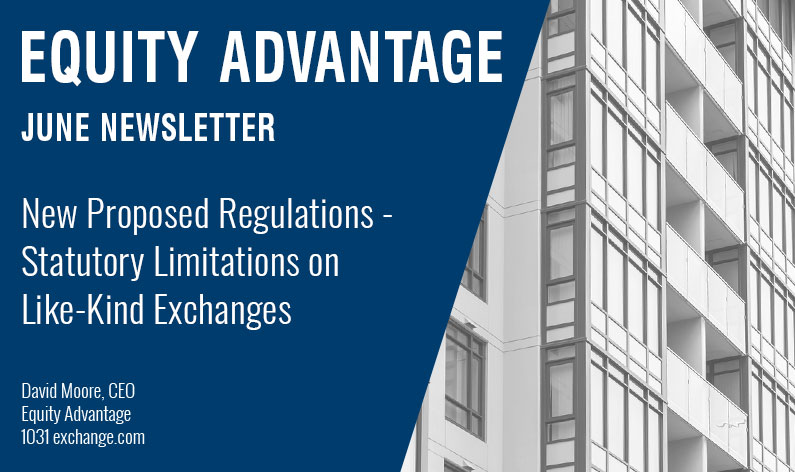New Proposed Regulations - Statutory Limitations on Like-Kind Exchanges