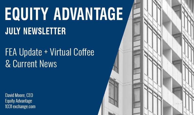 FEA Update + Virtual Coffee & Current News