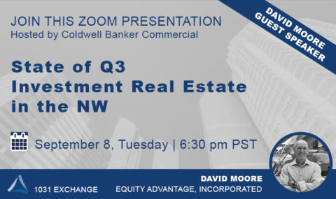 WEBINAR: State of Q3 Investment Real Estate – Tuesday September 8th, 2020