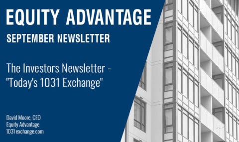 "The Investors Newsletter – ""Today's 1031 Exchange"""