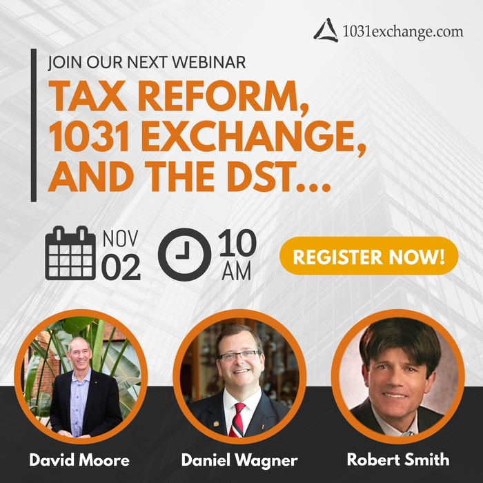 Webinar Tax Reform 1031 Exchange and the DST