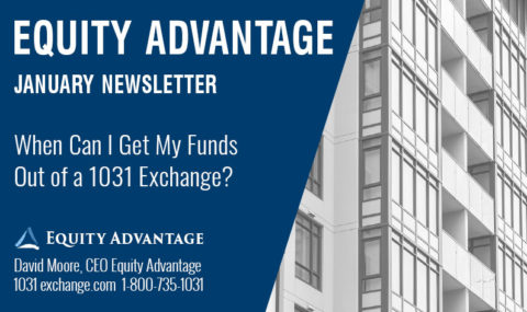 When Can I Withdraw My Funds Out of a 1031 Exchange?