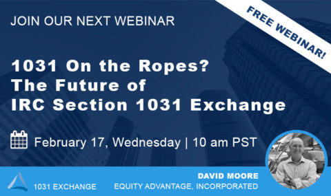 1031 On the Ropes? Join Us Wednesday, February 17th for Our Latest Webinar