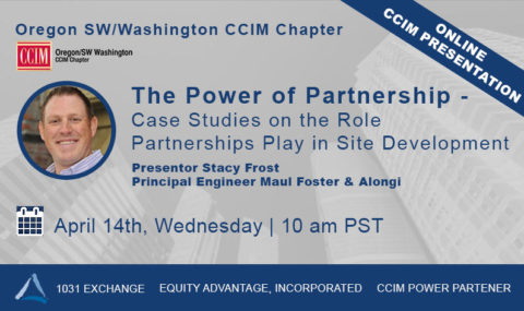 WEBINAR: The Power of Partnership –  Case Studies on the Role Partnerships Play in Site Development – Wednesday April 14th, 2021
