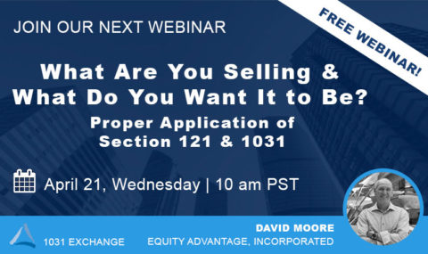 WEBINAR: What Are You Selling & What Do You Want It to Be? – Wednesday April 21st, 2021
