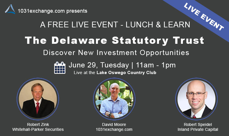 Lunch and Learn Delaware Statutory Trust