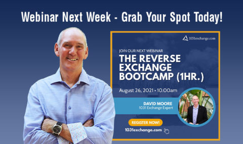 Save Your Spot for Next Week's Webinar! The Reverse Exchange Bootcamp