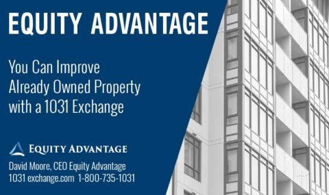 You Can Improve Property Already Owned with a 1031 Exchange